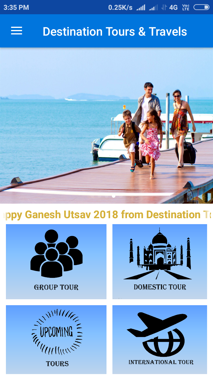 Unitrust IT Company Portfolio Tour Travel Android App